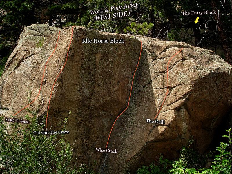 "Rock Climbing Photo: Photo beta for ""Cut Out The Craze.""  Loc..."