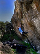Rock Climbing Photo: Luke Childers finding the simplest solution on &qu...