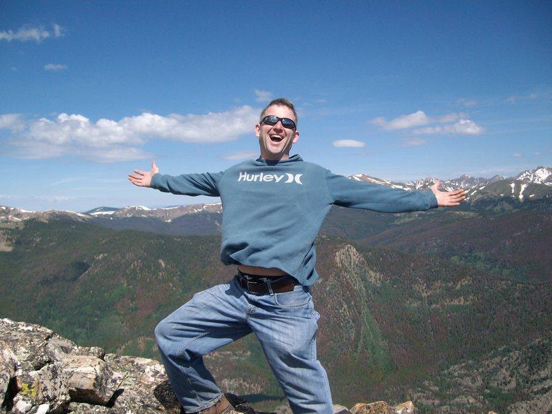 Rock Climbing Photo: peak one summit colorado