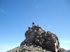 Rock Climbing Photo: top of victoria colorado