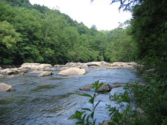 Rock Climbing Photo: The Meadow River.