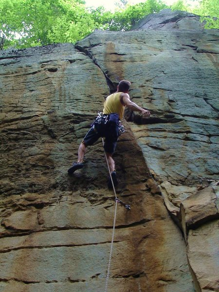 Rock Climbing Photo: Soul Patch.