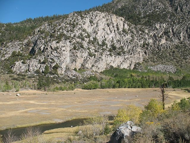 Rock Climbing Photo: Scenery along the June Lake Loop, Sierra Eastside