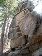 Rock Climbing Photo: Yo Picasso (aka Sunshine Daydream) Boulder, Tramwa...