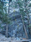 Rock Climbing Photo: Warthog 5.10c, Tank Canyon