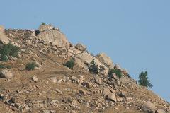 Rock Climbing Photo: Joe Brown and Halfdome Boulder Area