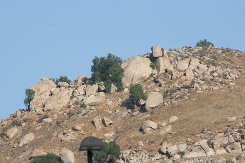 Joe Browns Helmet, Hardy Boys and John Long Boulder Areas
