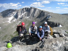Rock Climbing Photo: With Sandy, Mikey, and Laurelyn after climbing the...