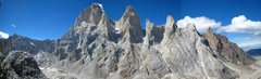 Rock Climbing Photo: View from the west of the FitzRoy massif. From lef...