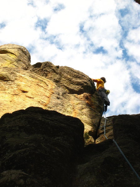 Rock Climbing Photo: Bergdale on FA