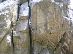 Rock Climbing Photo: Gear to a #3 cam?  Check out the green thingy by m...