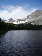 Rock Climbing Photo: Mitchell Lake