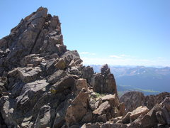 Rock Climbing Photo: Mount Wilson Summit Block