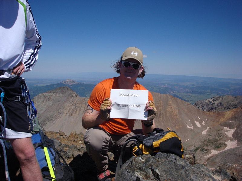 Me on Mount Wilson Summit