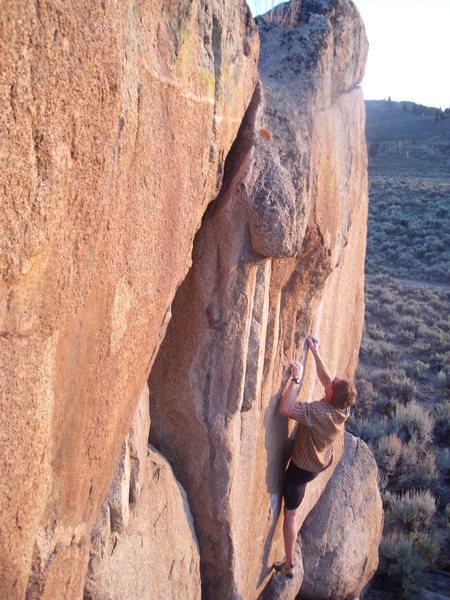 Rock Climbing Photo: Ben Johnson on Supermodel.