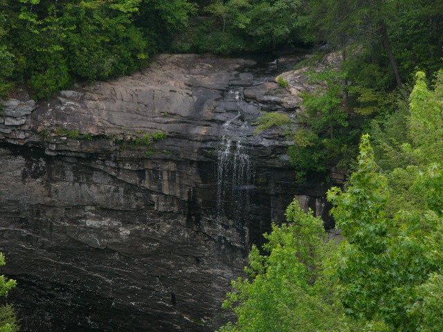 Rock Climbing Photo: Top of the falls