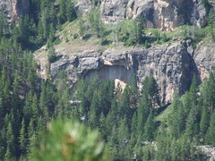 Rock Climbing Photo: Good looking rock in poison creek canyon 1