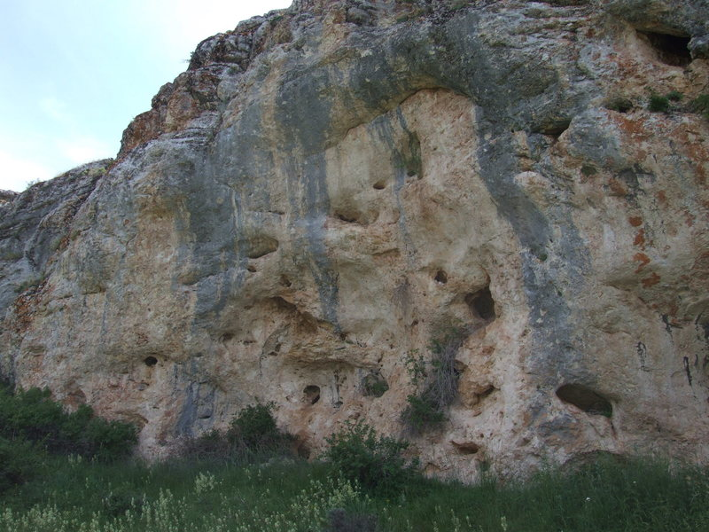 Rock Climbing Photo: cave 3. could have a few short routes. good rock!