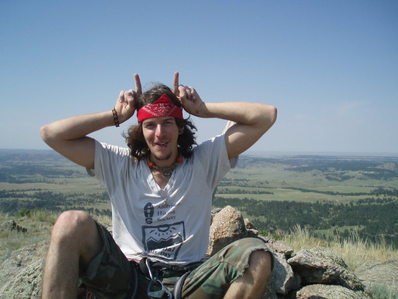 Rock Climbing Photo: First Devils Tower Summit