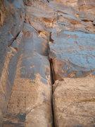 Rock Climbing Photo: 5.6 Corner Trad Route.
