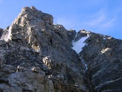 "Rock Climbing Photo: North Ridge of the Middle Teton with ""Harry's..."