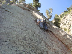Rock Climbing Photo: perfect place to put a nut in. even if it doesn't ...