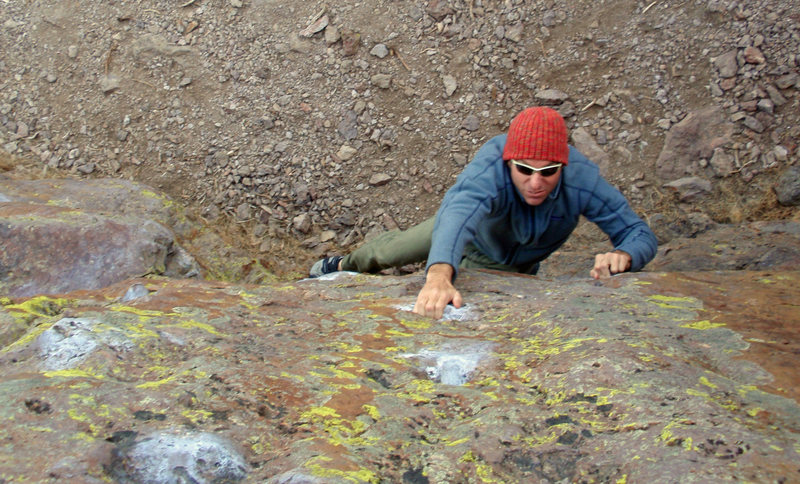 Rock Climbing Photo: silver surfer