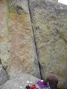 Rock Climbing Photo: Bob.