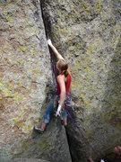 Rock Climbing Photo: Perfect ring locks.