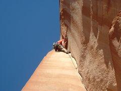 Rock Climbing Photo: think pink