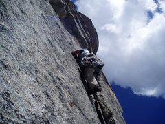Rock Climbing Photo: Good Evans.