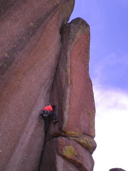 Rock Climbing Photo: Spectreman.