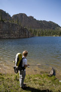Rock Climbing Photo: Some post climbing fishing