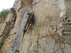 Rock Climbing Photo: Not to be missed (or skipped).... Coming to an cra...