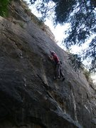 Rock Climbing Photo: The holds get tiny...