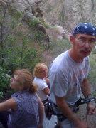 Rock Climbing Photo: Lynn, Legs & Lee lounging.