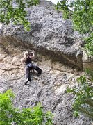 Rock Climbing Photo: Chemical Endeavors in Piney Creek Canyon