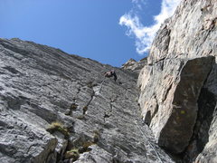 Rock Climbing Photo: RMNP with Jordon.  Cathedral Wall (Kor / Dalke Rou...