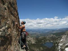 Rock Climbing Photo: RMNP with Jordon.  Cathedral Wall (Kor / Dalke Rou...