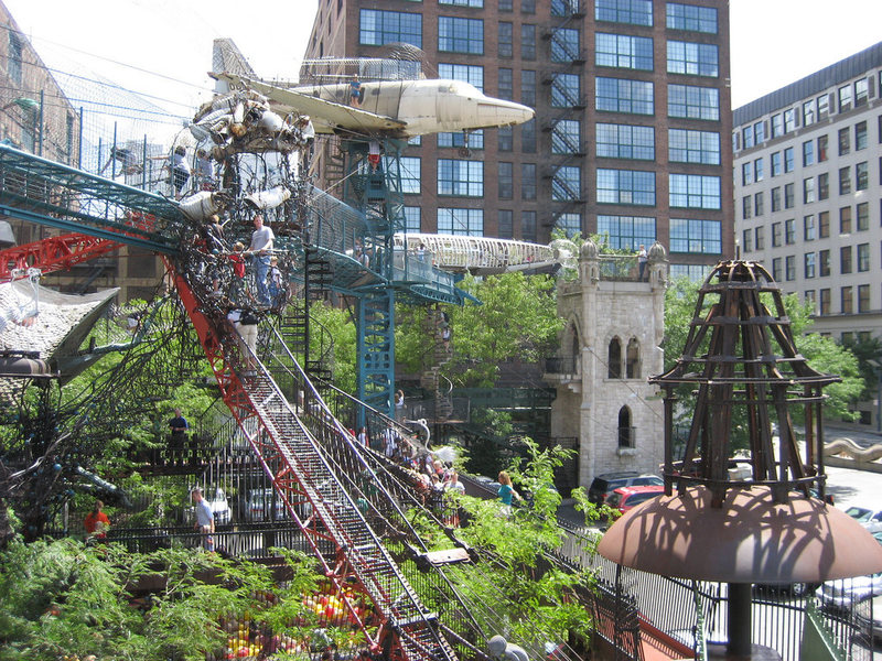 Rock Climbing Photo: Now here is a cool place to climb.  City Museum St...