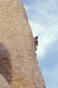 Rock Climbing Photo: Matthew Fienup on Loose Lady, Joshua Tree