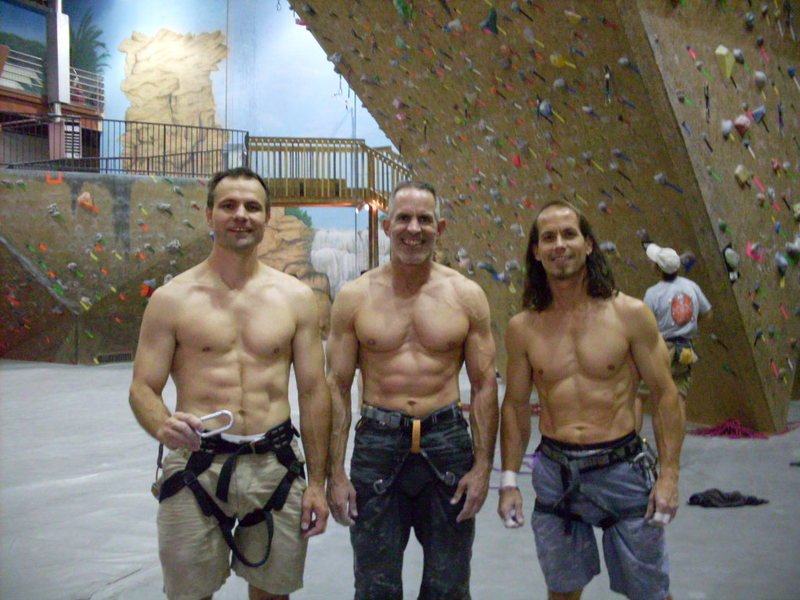 Rock Climbing Photo: Does your gym let you climb with your shirt off?