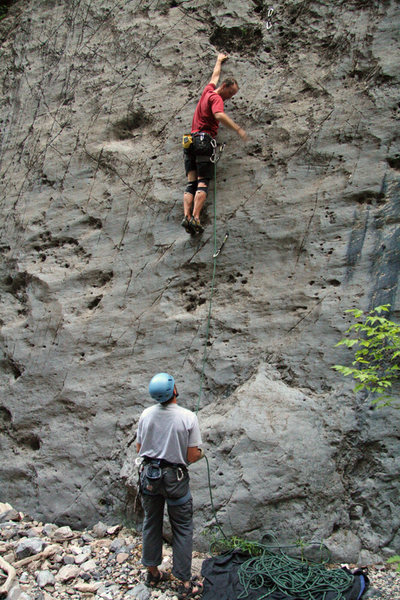 Rock Climbing Photo: Kip Henrie on Nair.