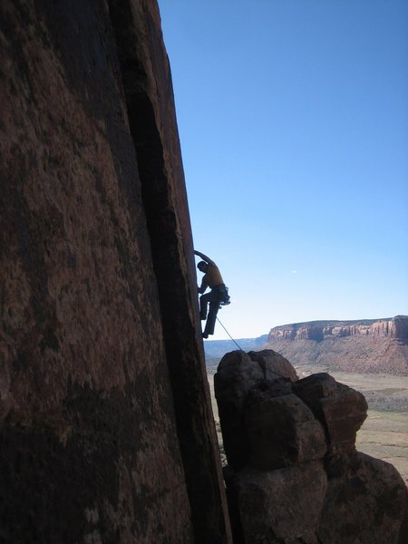 Rock Climbing Photo: Monk