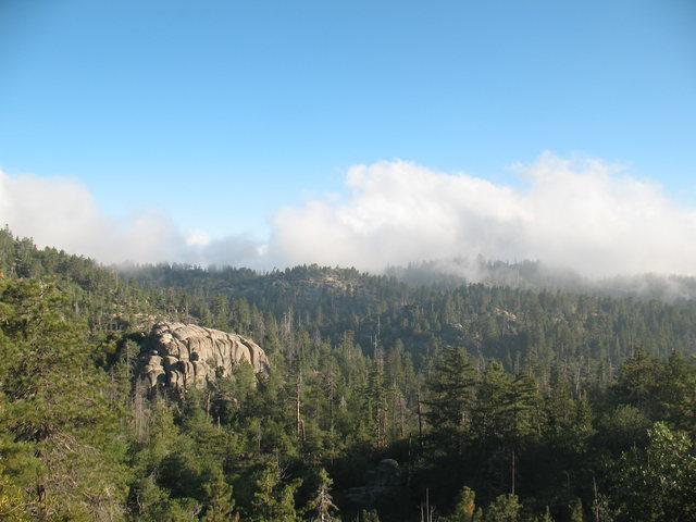 Rock Climbing Photo: Lower Dinosaur Rock from the road (1N96), Keller P...