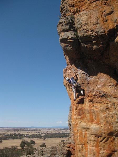 Rock Climbing Photo: Muldoon, Muldoon Wall