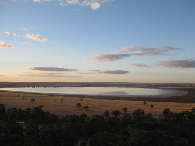 Rock Climbing Photo: view from Mitre Rock