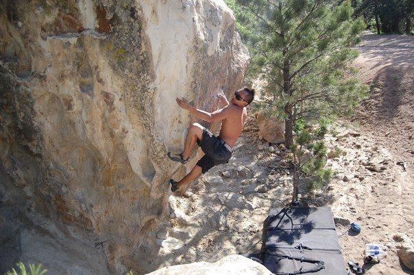 Rock Climbing Photo: Rain Dance.