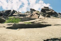 Rock Climbing Photo: Old Man of the Mountain from what was a climber's ...