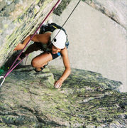 Rock Climbing Photo: Wiessner's exit corner. Archival photograph that h...